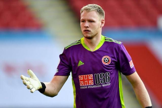 Sheffield United goalkeeper Aaron Ramsdale photo