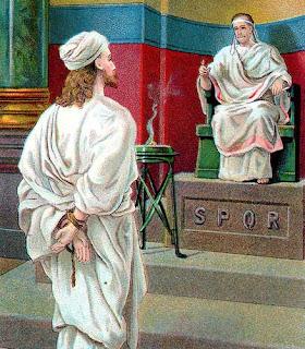 Examination by Pontius Pilate