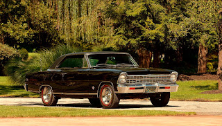 1967 Chevrolet Nova SS Front Right