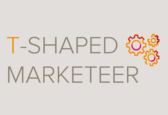 De T-shaped marketing professional