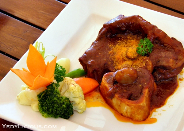 Osso Buco at Don Vito of Boracay Mandarin island Hotel