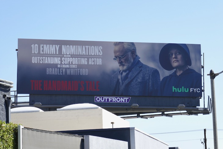 Daily Billboard Hulu Amazon Showtime Tbs And Other 2020 Emmy Nomination Billboards Advertising For Movies Tv Fashion Drinks Technology And More