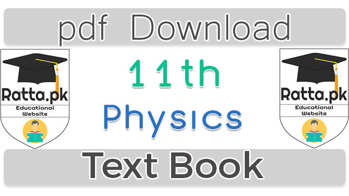 1st Year Physics Text Book pdf Download