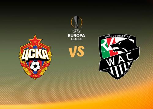 CSKA Moscú vs Wolfsberger AC  Resumen