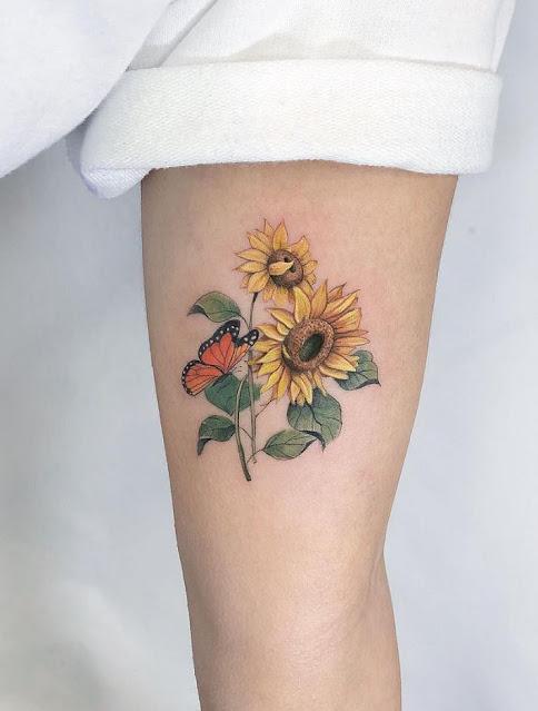 Mini tatuagens femininas
