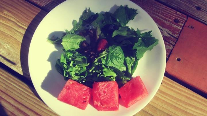 Vegan-Friendly Summer Salad From the Garden (Gluten-Free)
