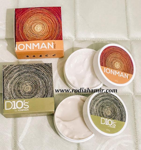 Kebaikkan D10's & IONMAN Pro Cream