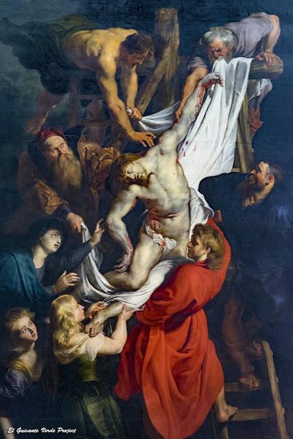 Rubens. Descendimiento, Catedral de Nuestra Señora - Amberes por El Guisante Verde Project