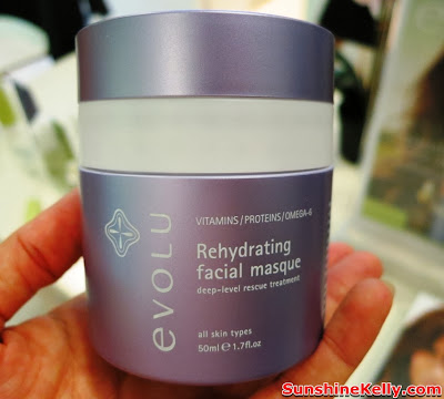 Evolu Botanical Skincare New Zealand @ theSkintopic, Evolu, Botanical Skincare, New Zealand, theSkintopic, evolu rehydrating facial mask