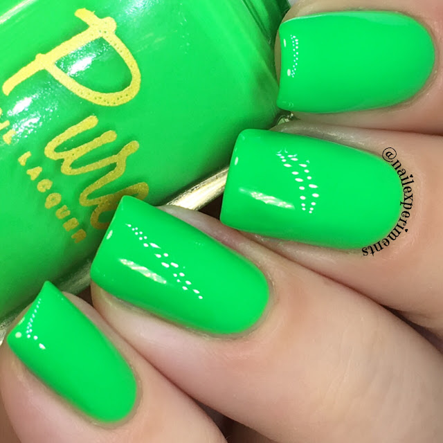 pura luxe money mojito swatch