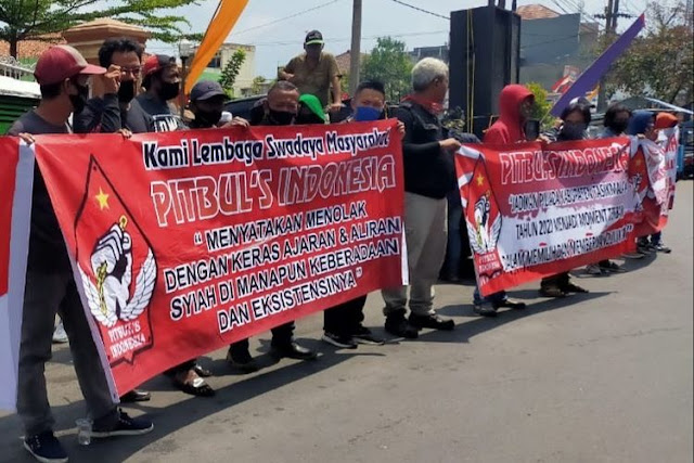 "Pitbul's Indonesia: ""Kami Menolak Keras Aliran Syiah Dimanapun Keberadaannya!"""