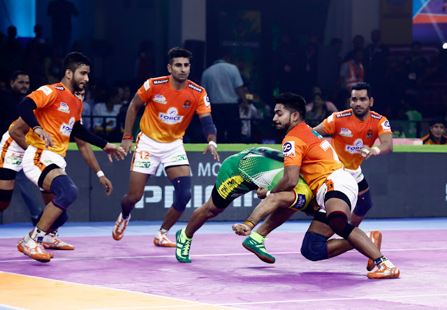 Puneri Paltan showcasing their steely defence