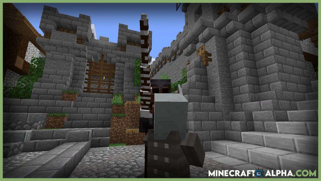 New Minecraft Jousting Mod