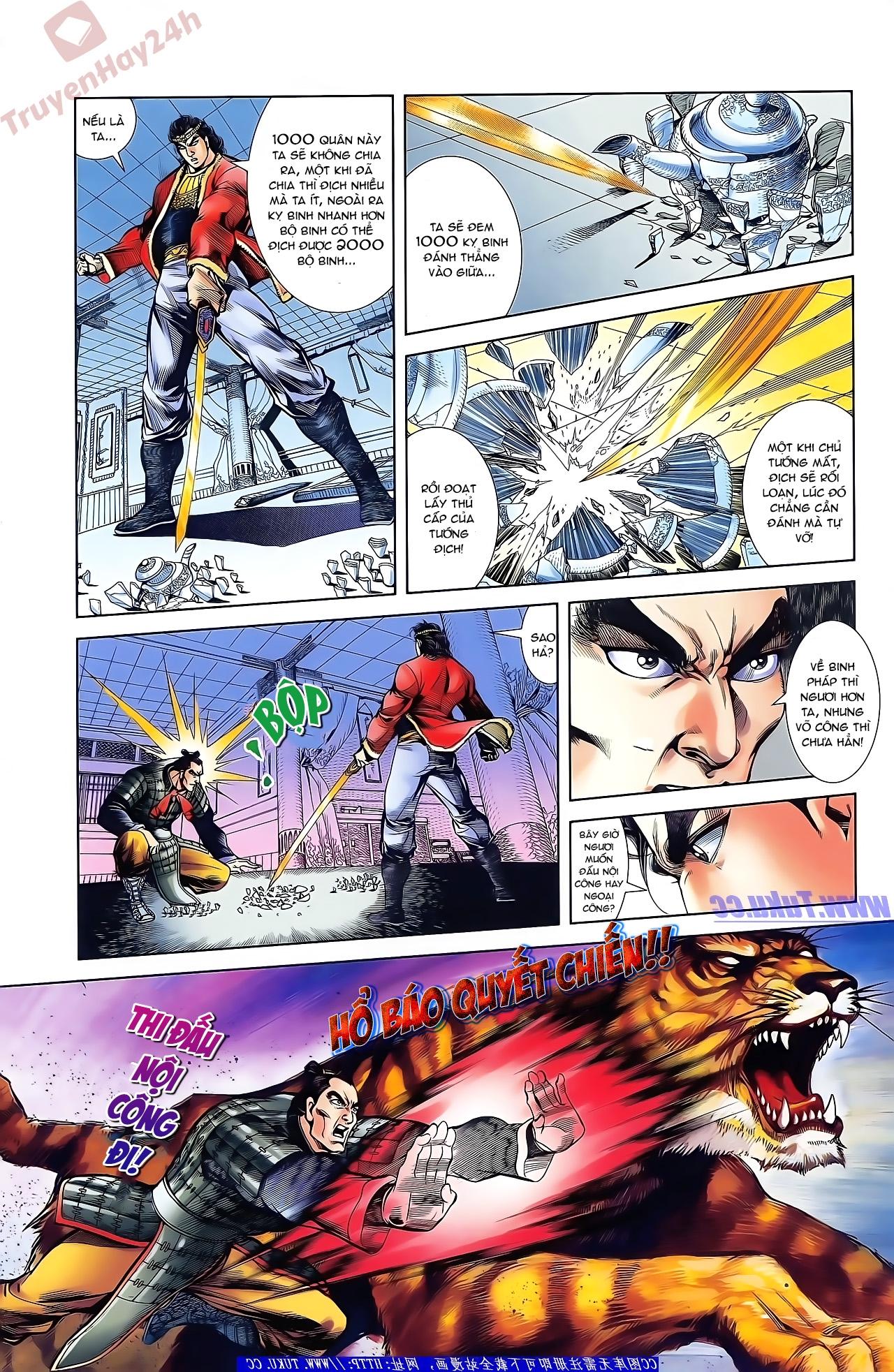 Tần Vương Doanh Chính chapter 42 trang 9