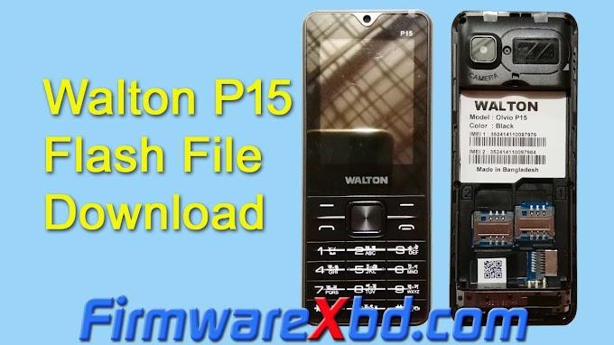 Walton P15 Flash File Download SC6531E Without Password Firmware