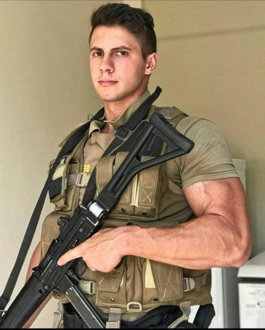 dangerous-handsome-young-dark-hair-armed-gun-army-soldier