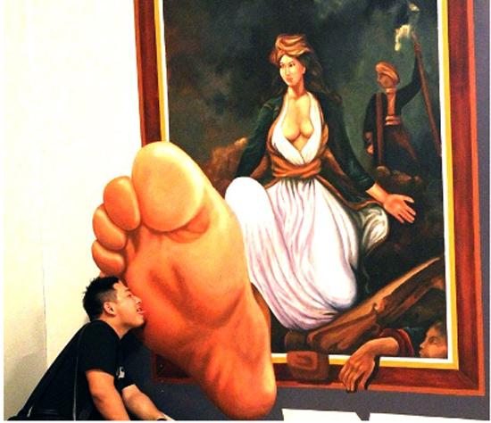 Trick Art 3D Gallery, Seminyak