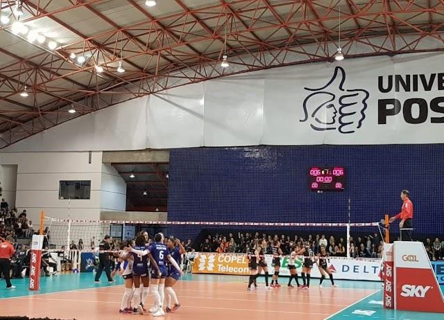 Brasília Vôlei tropeça diante do Curitiba e segue sem vencer na Superliga