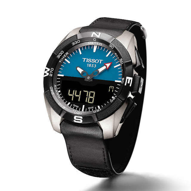 Tissot T-Touch Expert Solar Watch leather strap