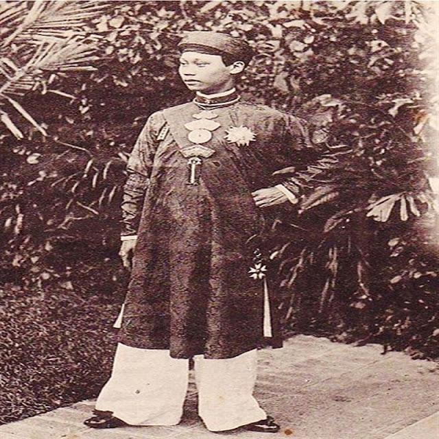 Dáng dấp vua Thành Thái đương thời