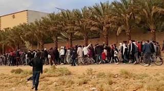 فكيك/ صرخة مؤلمة  لآخر فلاح مغربي يغادر الضيعات الفلاحية