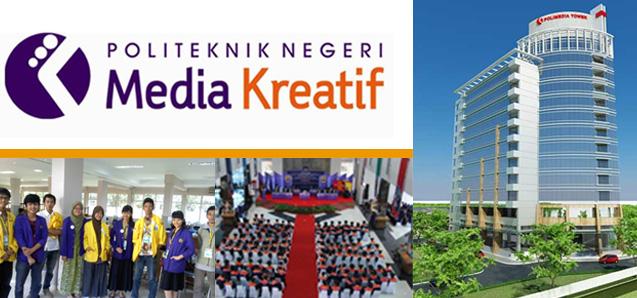 Info Pendaftaran Mahasiswa Baru POLIMEDIA (Politeknik Negeri Media Kreatif) Jakarta