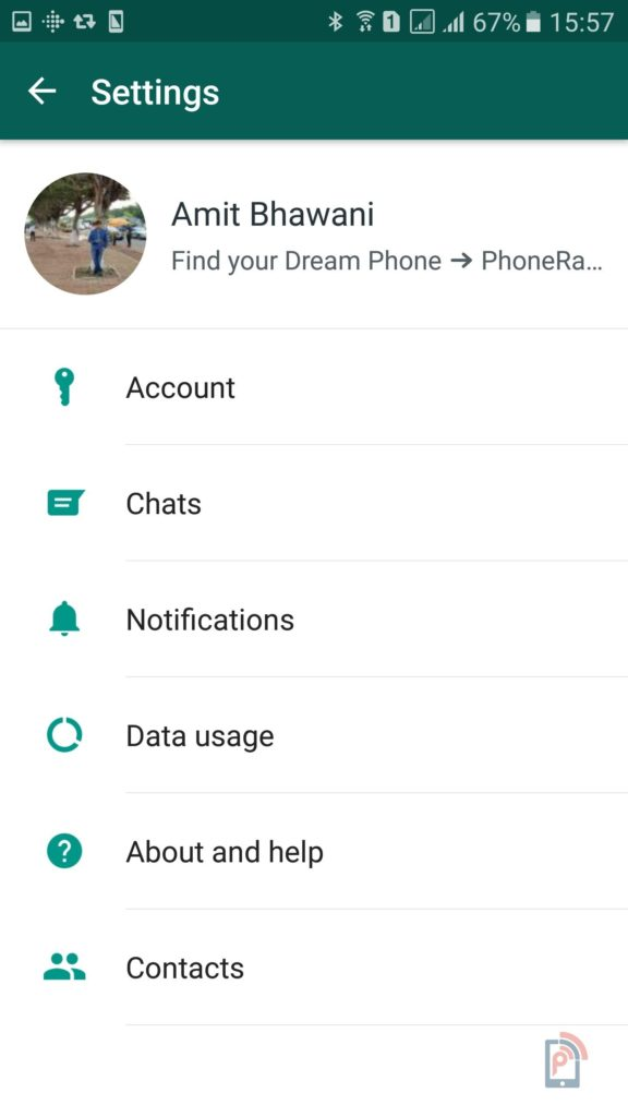 Whatsapp Display Picture