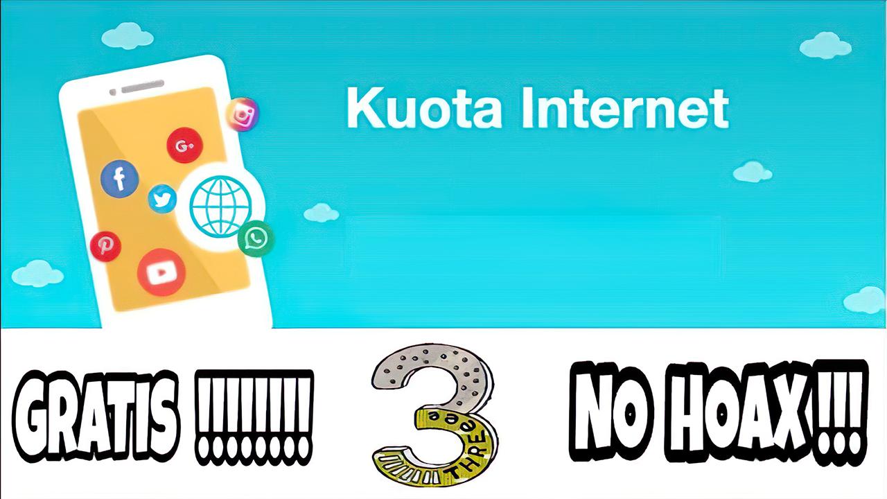 Cara Mendapatkan Kuota Internet Gratis Tri Terkini 2021
