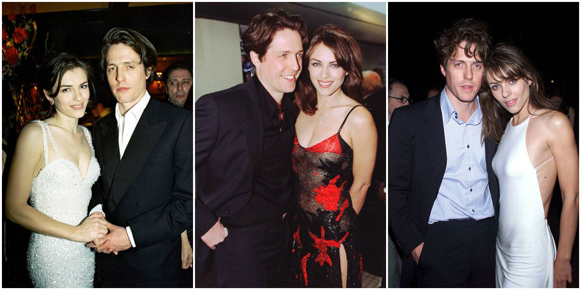 22 Candid Photographs of Hugh Grant and Elizabeth Hurley ...