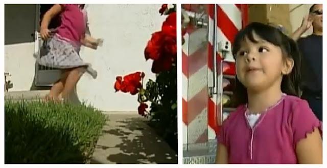 3-летняя девочка спасла жизнь отцу! Она прибежала к пожарным и сказала, что ее отец «замерз»