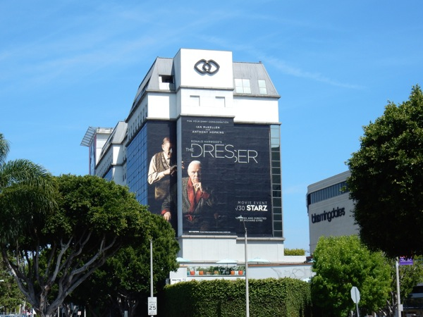 The Dresser giant Starz billboard