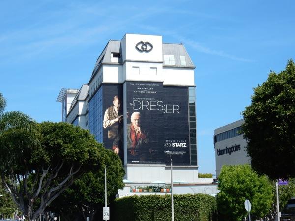 The Dresser giant Starz billboard