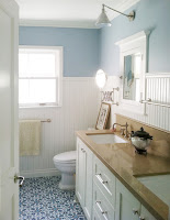 Small cottage bathroom design