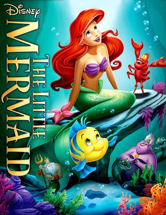 Poster pentru The Little Mermaid, animaţia celor de la Disney