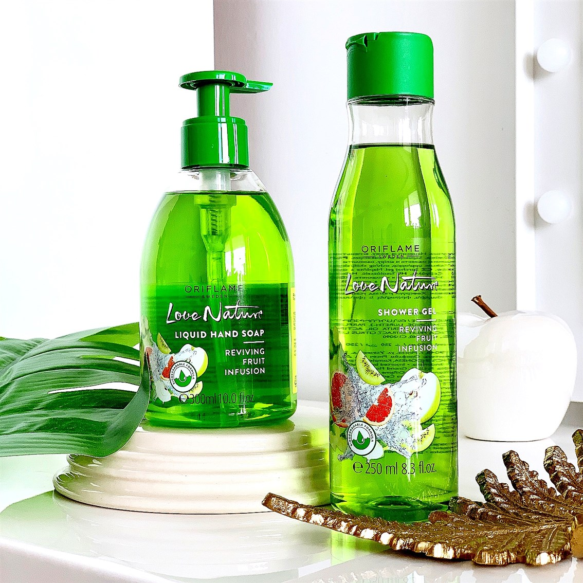 Oriflame Love Nature Fruit Infusion blog