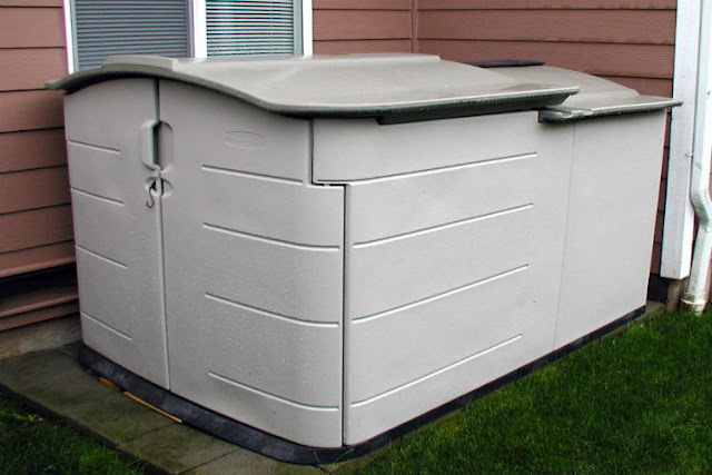 pool pump cover box
