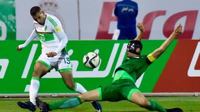 مباراة الجزائر ونيجيريا  الاسطورة اونلاين || extra goal