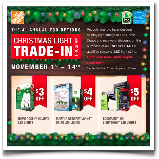 FashionCHICsta!: Eco Options: Trade In Christmas Lights At