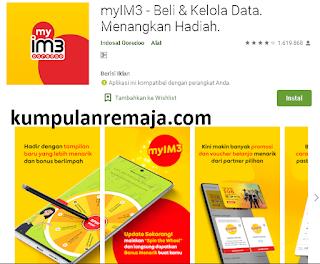 Aplikasi myIM3 Untuk indosat Oredoo