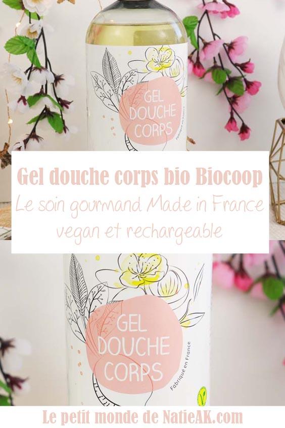 gel douche corps Biocoop Avis
