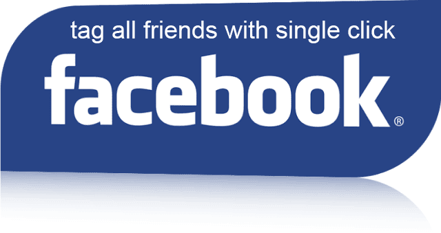 How to tag friends on facebook ?