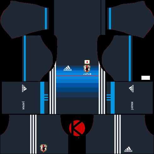 Japan 2016 Kits - Dream League Soccer Kits and FTS15