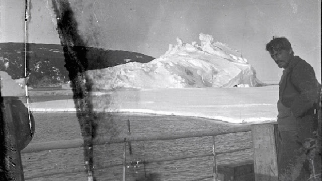 Antartide: Negativi centenari scoperti all'interno di un blocco di ghiaccio