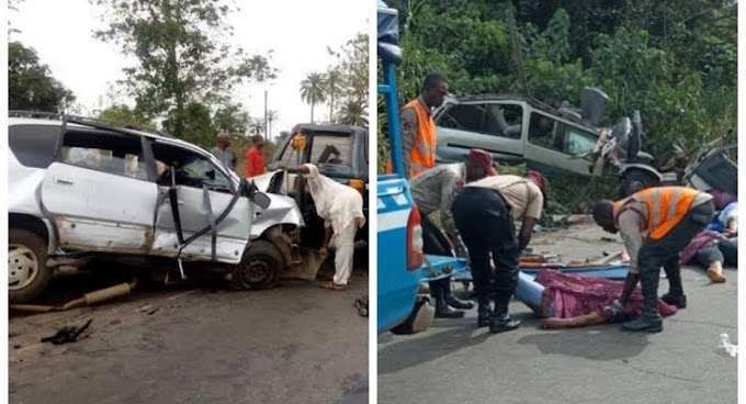 Just Happend In Lagos Expressway So Sad (watch video)