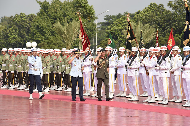 Panglima TNI Terima Kunjungan Kehormatan Pangab Diraja Brunei