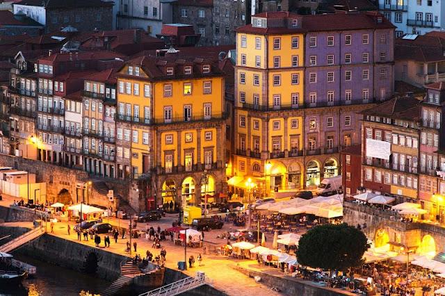Passeio pela Ribeira do Porto
