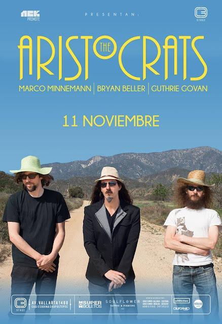 The Aristocrats 11 noviembre  C3 STAGE