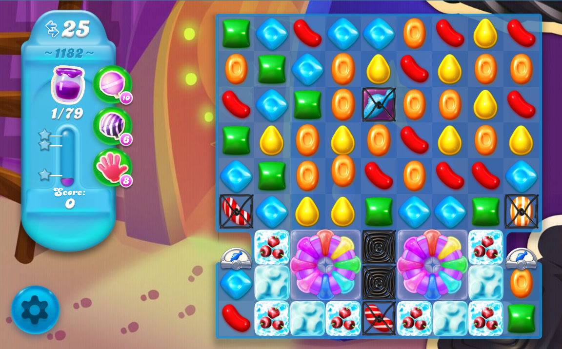Candy Crush Soda Saga level 1182