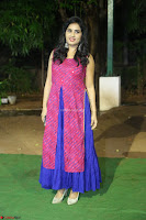 Srushti in beautiful Pink Sleeveless Dress Cute Actress Dimples ~  Exclusive 060.JPG