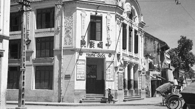 Rạp chiếu phim Trung Quốc ở phố Hàng Bạc hà nội ngày xưa ấy